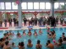 Στο Aqua Life λειτουργεί ειδικό τμήμα baby swimming για μωρά από 9 μηνών σε ειδική κλειστή θερμαινόμενη πισίνα με κατάλληλα εξειδικευμένο και εκπαιδευμένο προσωπικό.