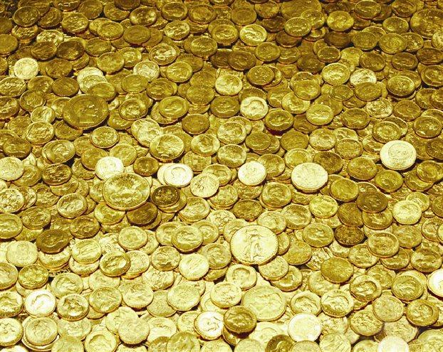 Xrises Lires, Gold Coins - Halandri, Gerakas, Agia Paraskevi