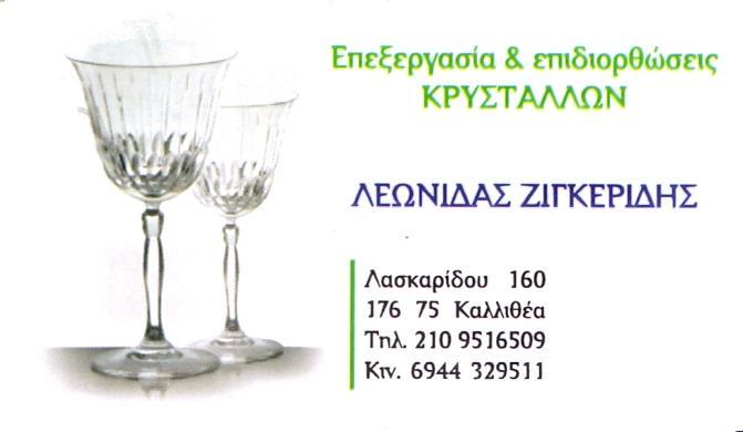 Επεξεργασία - επιδιορθώσεις κρυστάλλων Ζιγκερίδης