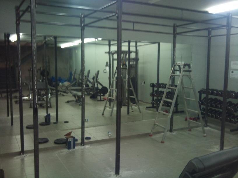 ειδικές κατασκευές μονόζυγου  για γυμναστήριο