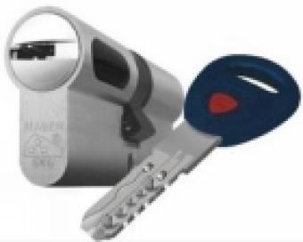 Kύλινδρος MAUER με κλειδί που δεν αντιγράφεται
