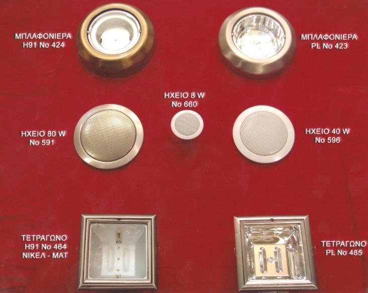 μπλαφονιερα PL - HQI διαστασεις 28 Χ 7 εκατοστα - ηχεια 80 watt και τετραφωνα χωνευτα