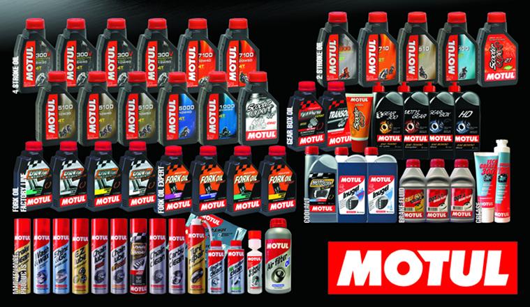 Μεγάλη ποικιλία σε λάδια της γαλλικής εταιρίας MOTUL για όλους τους τύπους μοτοσυκλέτας σε πολύ καλές τιμές.  Πώληση χονδρική λιανική