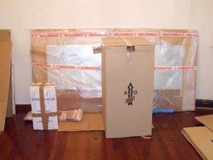 Ειδικό αμπαλάζ και συσκευασία επίπλων