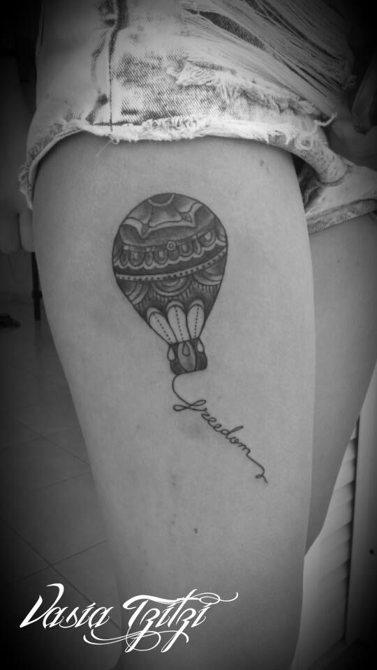 baloon tattoo