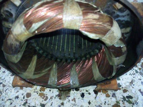 Περιελiξη ηλακτροκινητηρα 30 Hp-380volt