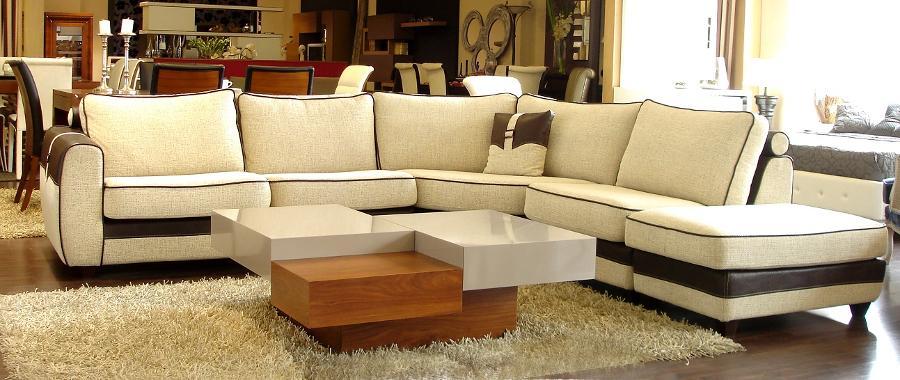 Καναπές γωνία λευκός με μάυρο Μαρούσι, βόρεια προάστια