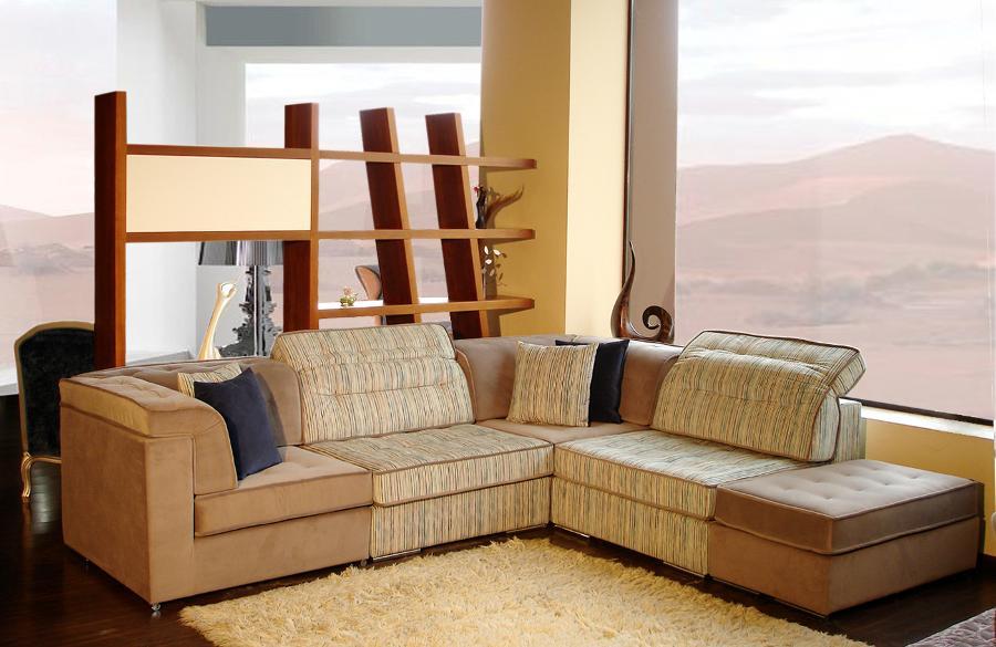 Σαλόνι καναπές γωνία καφέ με λεπτομέρειες