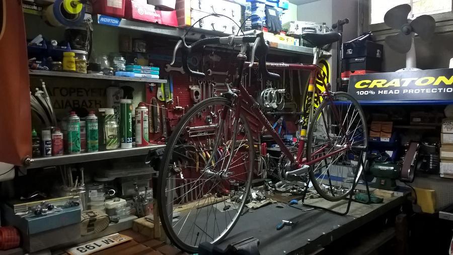 Ανακατασκευές ποδηλάτων Αθήνα, ειδικές κατασκευές ποδηλάτων Αττική, Πατήσια