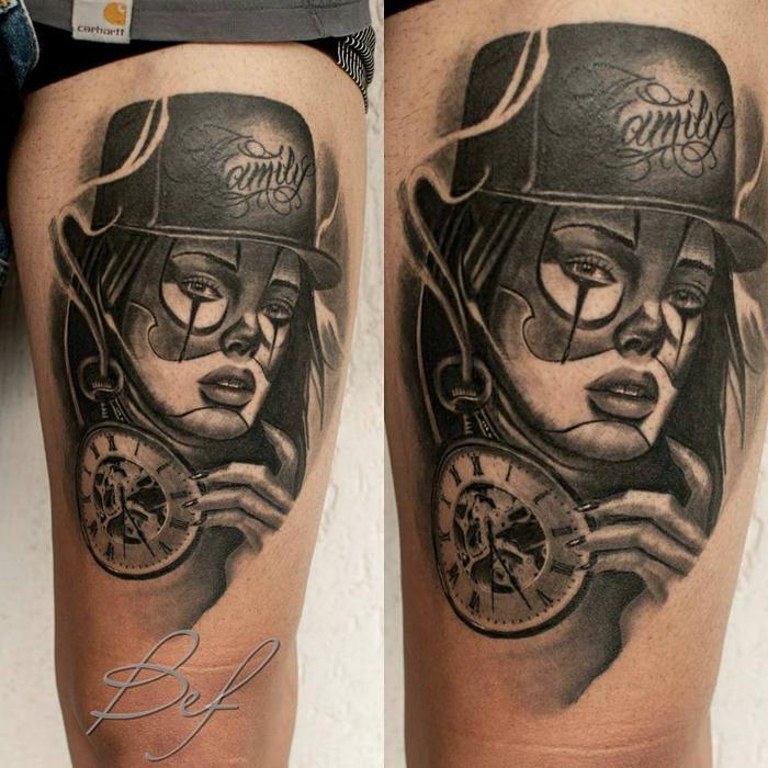 Τατουάζ προσωπογραφίες Γαλάτσι