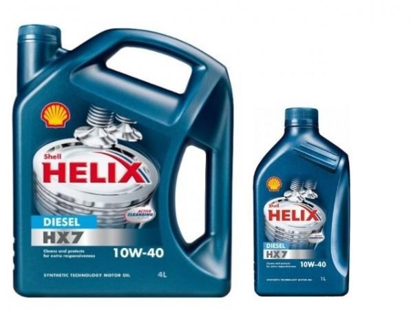 SHELL HX7 10W-40 1L 8€ - 4L 30€