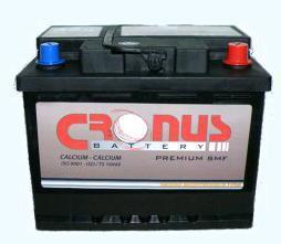 Μπαταρία αυτοκινήτου Cronus 50 Amp-h 50€