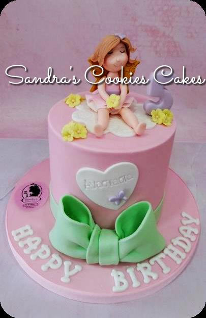 Little fairy cake   Τούρτα ζαχαρόπαστα