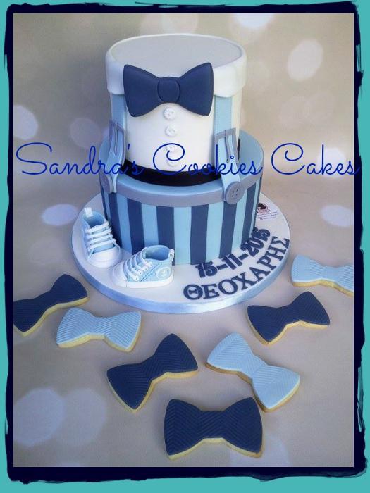 Little man cake    Τούρτα ζαχαρόπαστα