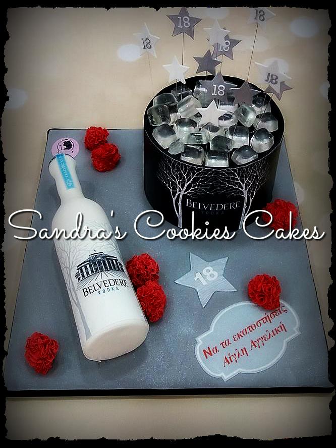 Belvedere cake  Τούρτα ζαχαρόπαστα