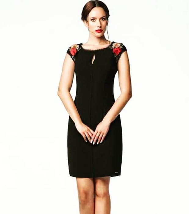 7dd32f200ebc ... Μαύρο φόρεμα Παγκράτι