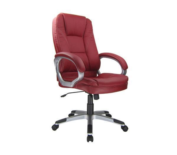 Καρέκλα γραφείου κόκκινη δερματίνη, Έπιπλα  Βόρεια Προάστια