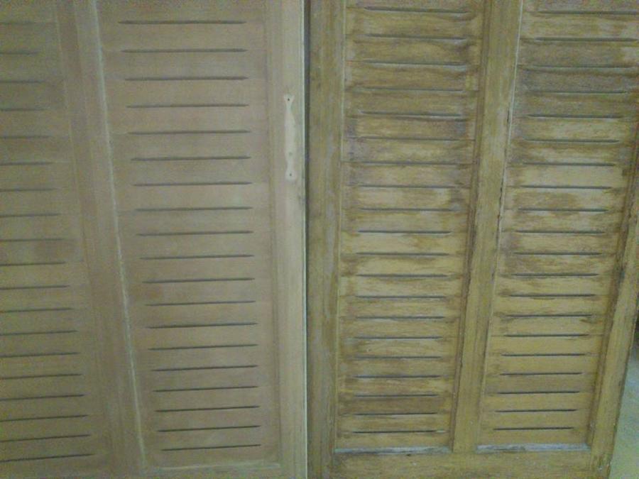 Αναπαλαίωση σε παλαιό ξύλινο κούφωμα