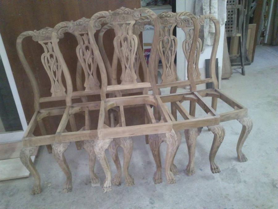 Αναπαλαίωση καρέκλας στα Γλυκά Νερά.-ΚΑΘΑΡΙΣΜΟΣ