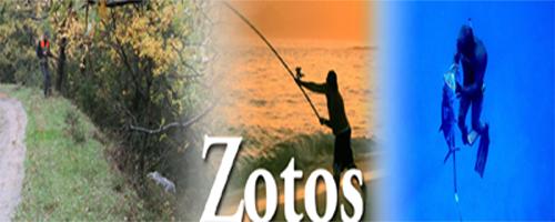 Zotos, Είδη κυνηγιού Νέα Ιωνία