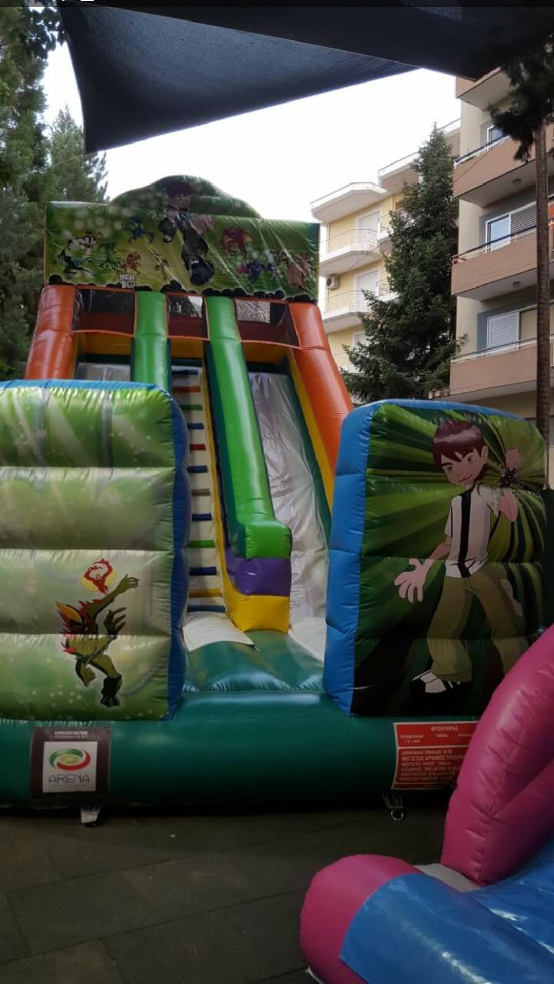 Διαθέσιμα φουσκωτά παιχνίδια για πώληση Αθήνα, Πωλήσεις φουσκωτών παιχνιδιών Αθήνα, Φουσκωτά παιχνίδια σε άριστη κατάσταση Αθήνα