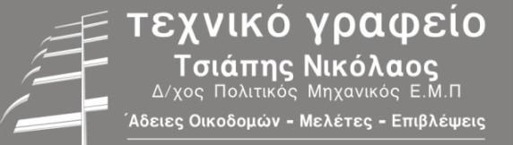 Νίκος Τσιάπης, Πολιτικός Μηχανικός Νέα Σμύρνη