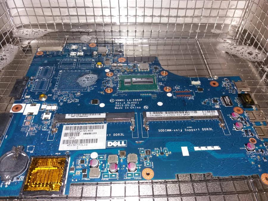 Καθαρισμός motherboard