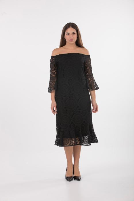 ... γυναικεία ρούχα χονδρική στα Βόρεια Προάστια. Φορεματα. Φορεμα μεγελαο  μεγεθος με δαντελα 708b15078c1