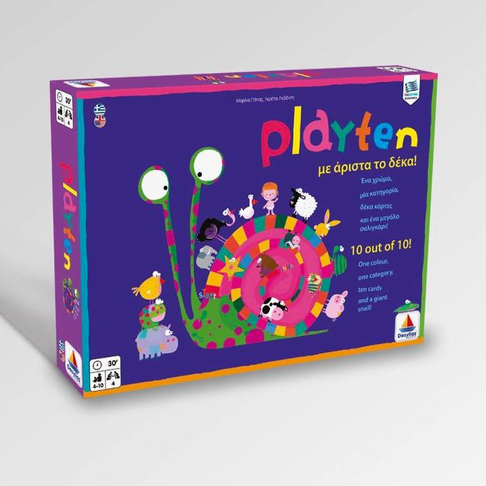 Playten, εκπαιδευτικό παιχνίδι για παιδιά και γονείς, Βιβλιοπωλείο Κράμα Μαρκόπουλο