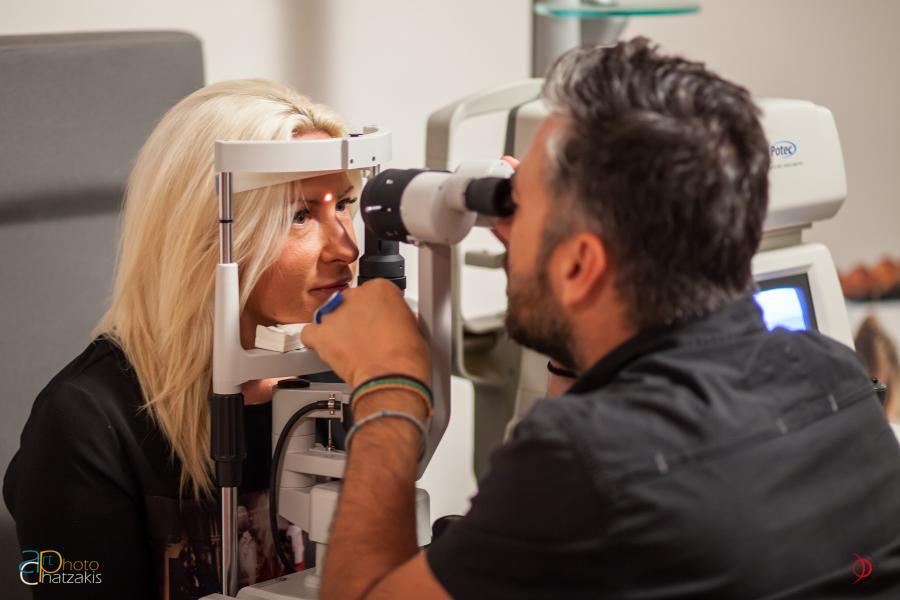 Εργαστήριο οπτομετρίας