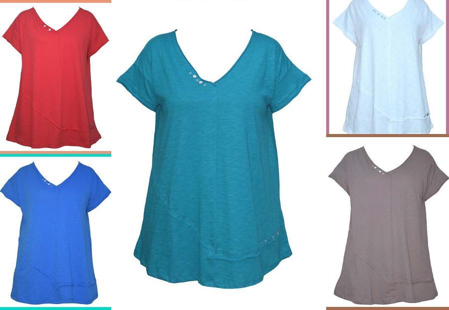 Μπλούζα Φαρδιά Φλάμα, code 18-166, price 22,80€