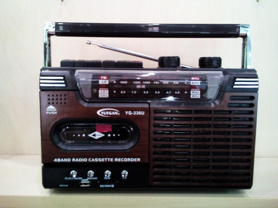 Ραδιοκασετοφωνο Παγκράτι- Θυρα USB-Υποδοχη καρτας SD