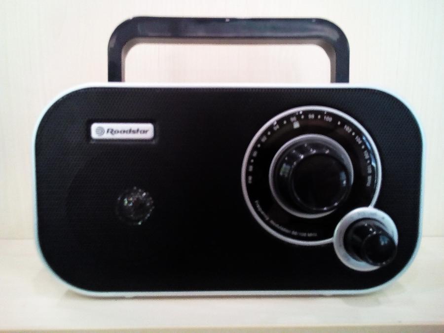 Ραδιοφωνο Roadstar Παγκρατι-Μπαταριας Ρευματος-2 χρονια εγγυηση
