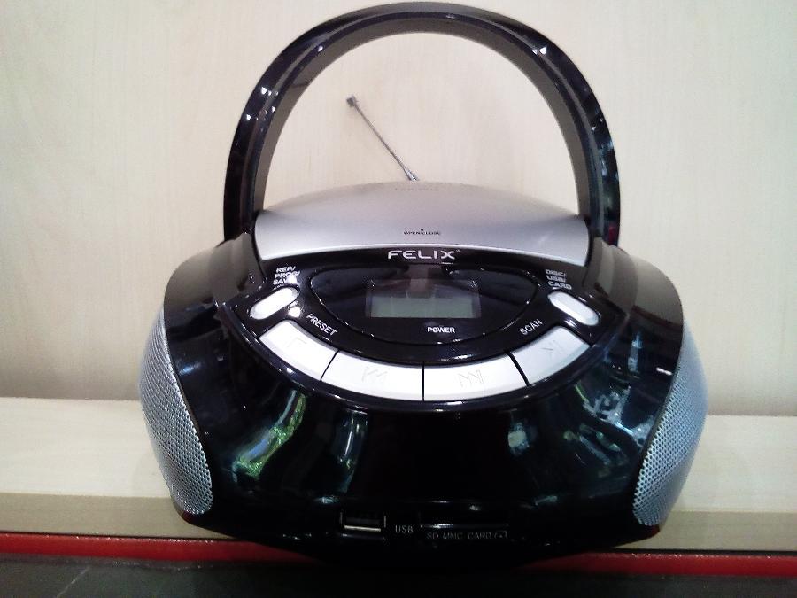 Φορητο ραδιοφωνο cd player μπαταριας ρευματος Παγκρατι Θυρα usb καρτα sd 2 χρονια εγγυηση