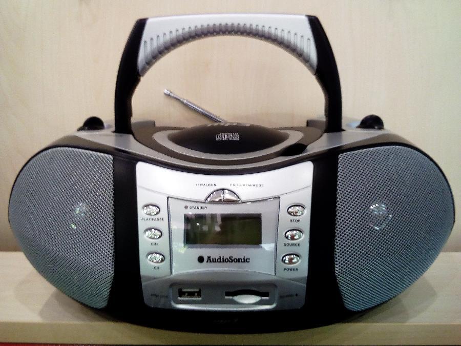 Φορητη CD PLAYER Ραδιοφωνο Θυρα usb Καρτα sd 2 χρονια εγγυηση