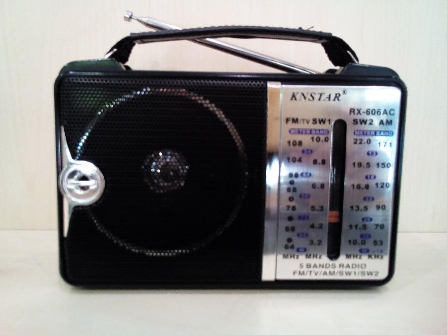 Αναλογικο Ραδιοφωνο Παγκρατι-Μπαταριας Ρευματος