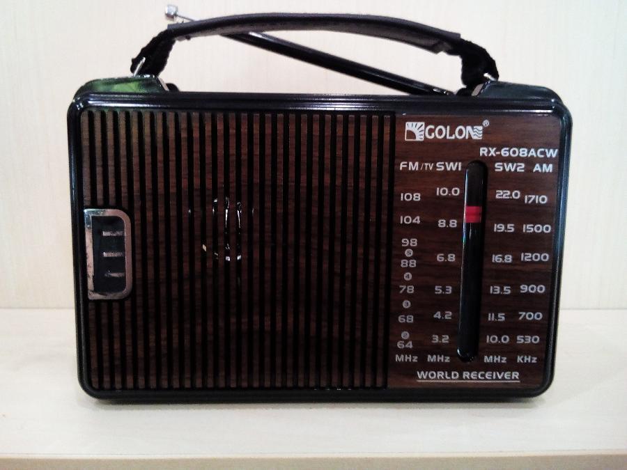 Ραδιοφωνο μπαταριας ρευματος Παγκρατι