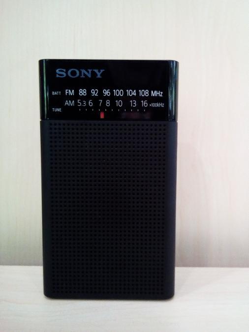 Ραδιοφωνο μπαταριας SONY  ΠαγκρατιΥποδοχη ακουστικων