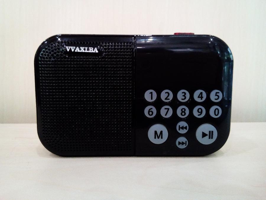 Ψηφιακο ραδιοφωνο επαναφορτιζομενο Παγκρατι θυρα usb καρτα sd