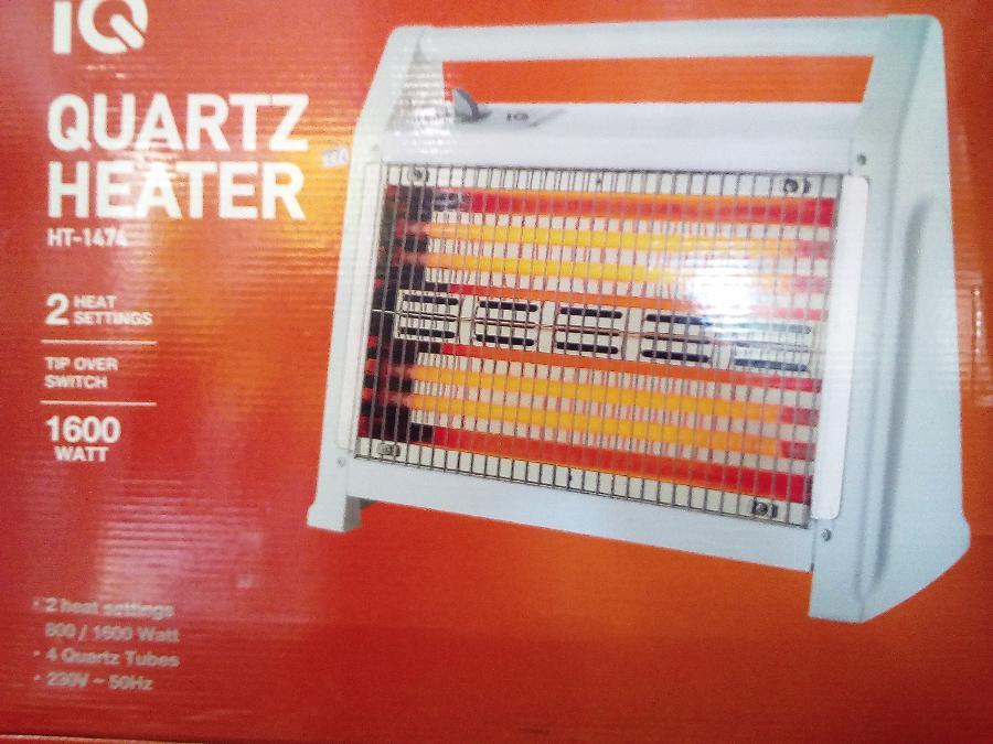 Σομπα Quartz 1600w Παγκρατι 2 χρονια εγγυηση