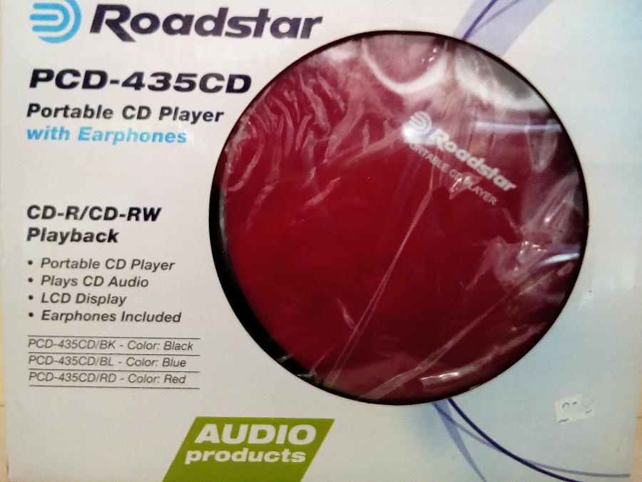 Cd player Roadstar-2 Χρονια εγγυηση-Αριστη Ποιοτητα