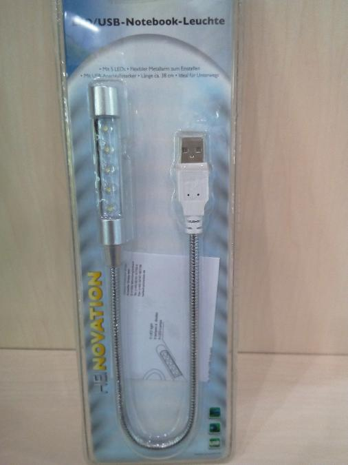 Led φακος με θυρα usb Παγκρατι 5 led ιδανικο για φωτισμο πληκτρολογιου