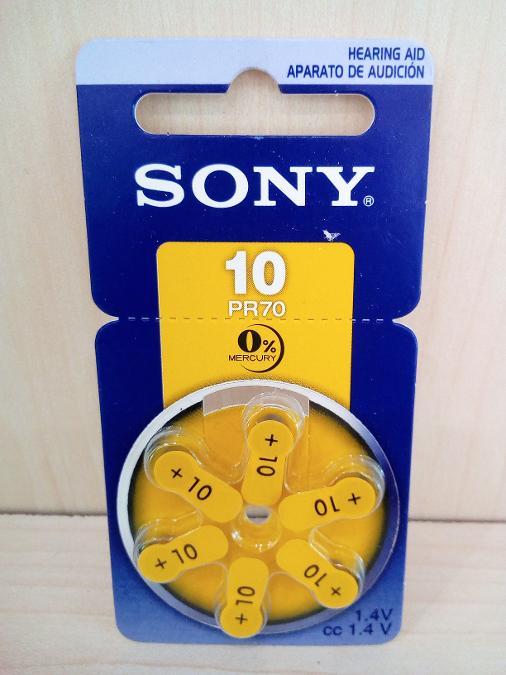 Μπαταρια ακουστικων βαρυκοιας Ν10 SONY Παγκρατι