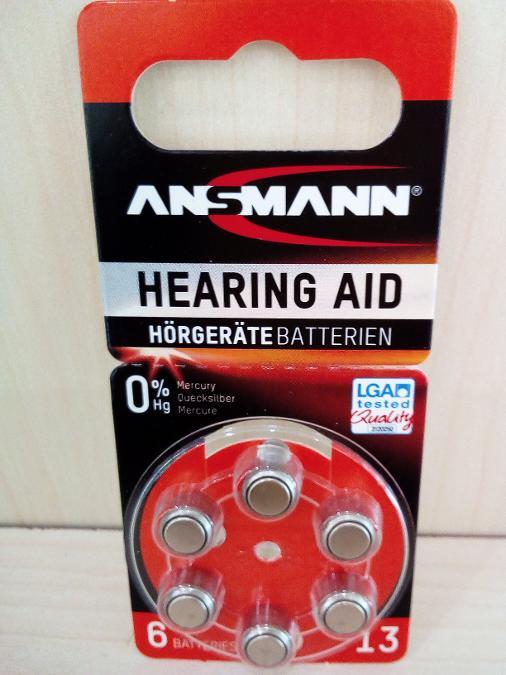 Μπαταρια ακουστικων βαρυκοιας Ν13 Παγκρατι