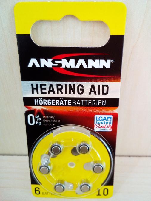 Μπαταριες ακουστικων βαρυκοιας Ν10 Παγκρατι