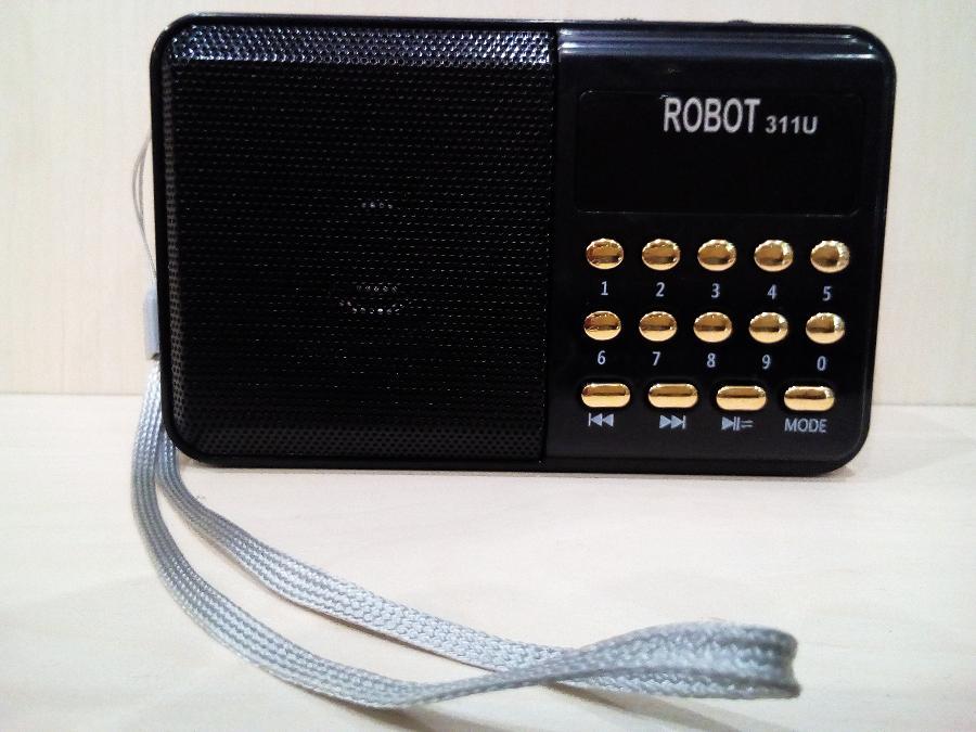 Ραδιοφωνο ψηφιακο Παγκρατι-Επαναφορτιζομενο-Θυρα usb/sd