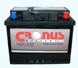 Μπαταρία αυτοκινήτου Cronus