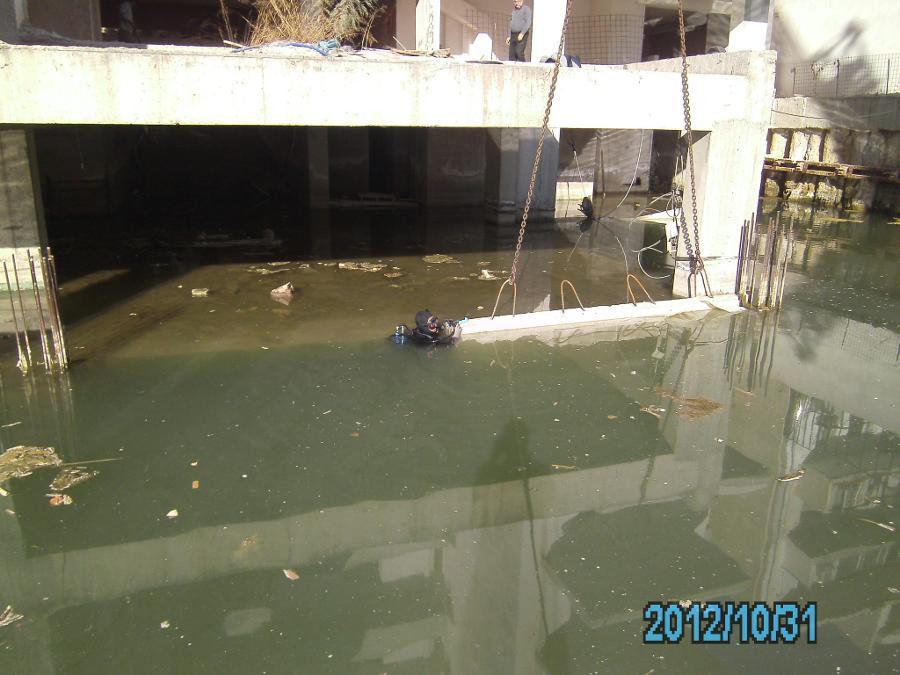 Κατασκευή υφάλων από μπετόν για την σταθεροποίηση νερών