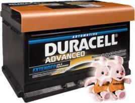 Μπαταρία αυτοκινήτων Duracell 60ah - 85€