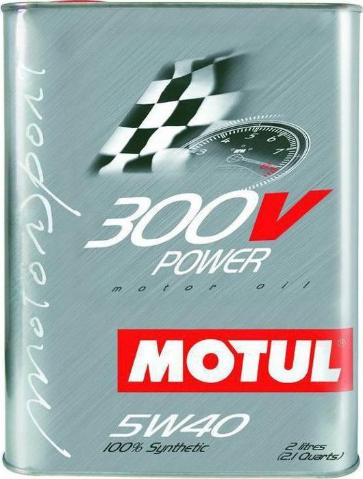 Motul 300V 5W40 2L 28€